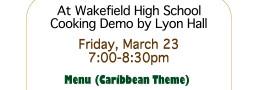 Caribbean-Vegetarian Demo at Wakefield High School