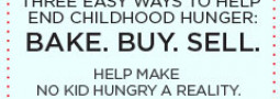 """Great Food Bloggers in DC Support """"No Kid Hungry Campaign"""""""