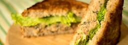 Sandwich 15: Atun Vegetariano, pero con Garbanzos!