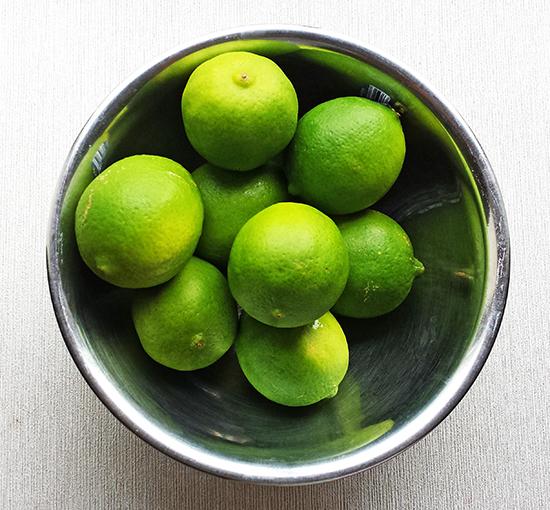 limones limas