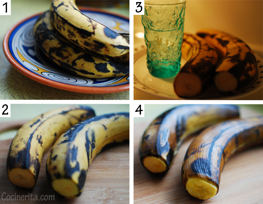 Easy Cooking Plantains in the Microwave