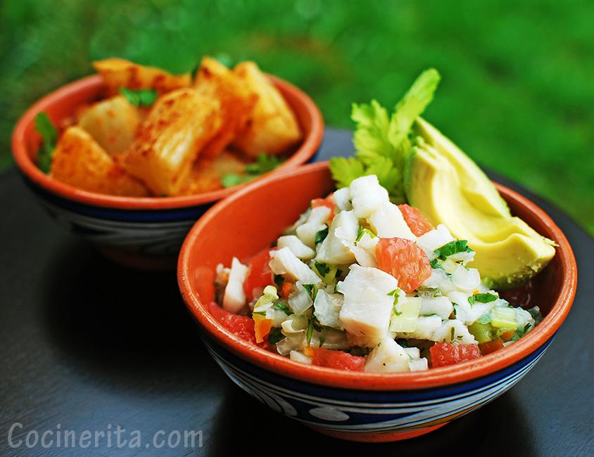 Fish Ceviche Recipe - Panamanian Food
