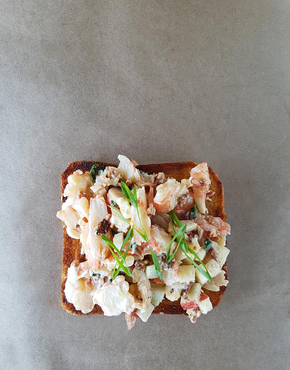 Shrimp Bacon Toast 1 feat